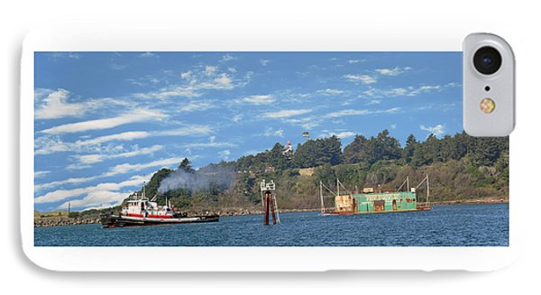 Newport Oregon - Yaquina Bay Traffic IPhone Case by Image Takers Photography LLC - Laura Morgan