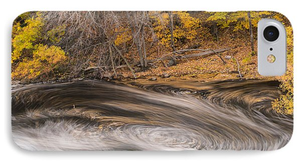Newton Upper Falls Dual Whirlpool Newton Ma IPhone Case by Toby McGuire