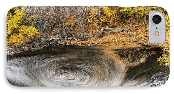 Newton Upper Falls Whirlpool Newton Ma IPhone Case by Toby McGuire