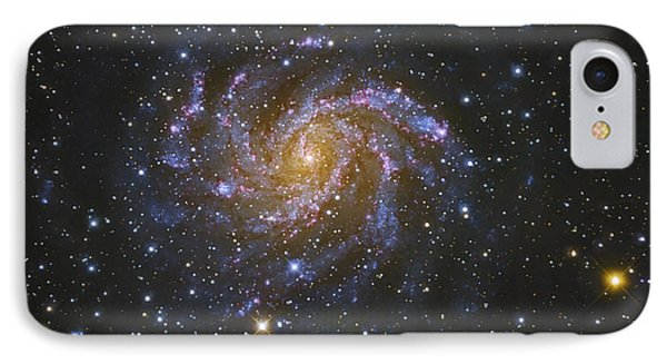 Ngc 6946, Also Known As The Fireworks Phone Case by Robert Gendler