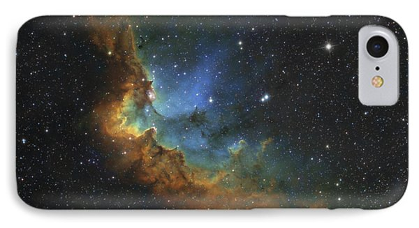 Ngc 7380 In Hubble-palette Colors Phone Case by Rolf Geissinger