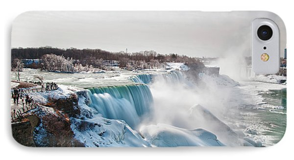 IPhone Case featuring the photograph Niagara Falls 4589 by Guy Whiteley