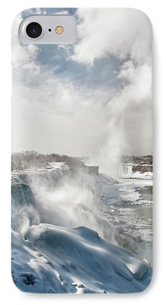 IPhone Case featuring the photograph Niagara Falls 4601 by Guy Whiteley