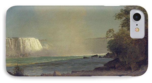 Niagara Falls Phone Case by Albert Bierstadt