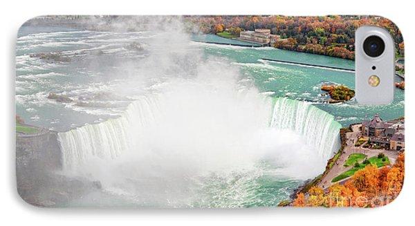 Niagara Falls Autumn IPhone Case by Charline Xia