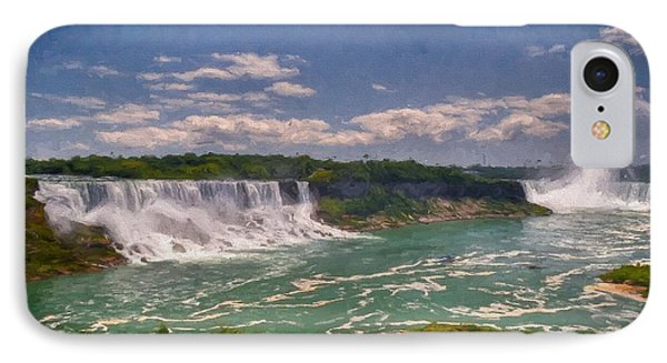 Fall In Niagara Falls IPhone Case