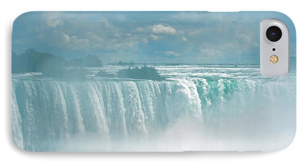 Niagara Falls In The Blue Mist IPhone Case by Ben and Raisa Gertsberg