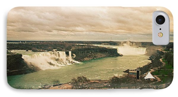 IPhone Case featuring the photograph Niagara Falls by Mary Machare