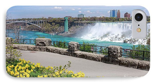Niagara Falls Spring Time IPhone Case by Charline Xia