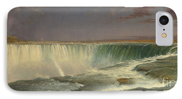 Niagara IPhone Case by Frederic Edwin Church