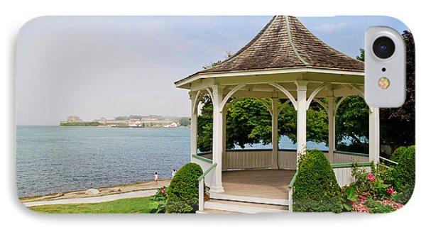 Niagara On The Lake Gazebo 2014 IPhone Case by Maria Janicki