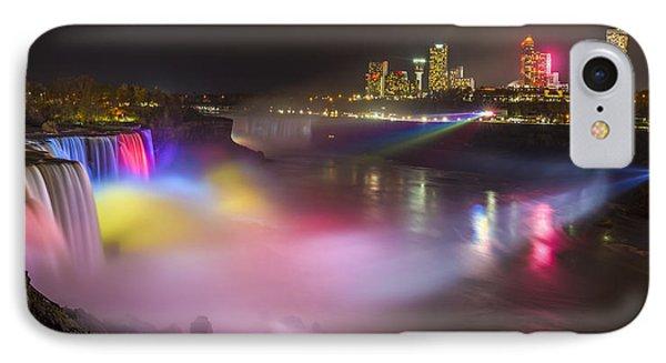 IPhone Case featuring the photograph Niagara Rainbow by Mark Papke