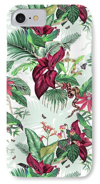 Nicaragua IPhone 7 Case by Jacqueline Colley