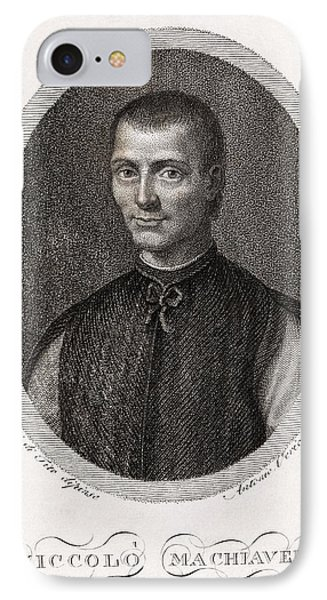 Niccolo Machiavelli, Italian Philosopher Phone Case by Middle Temple Library