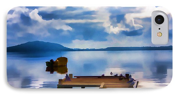 IPhone Case featuring the photograph Nice Dock by Rick Bragan