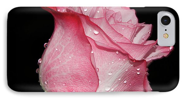 IPhone Case featuring the photograph Nice Rose by Elvira Ladocki
