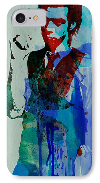 Nick Cave IPhone Case by Naxart Studio