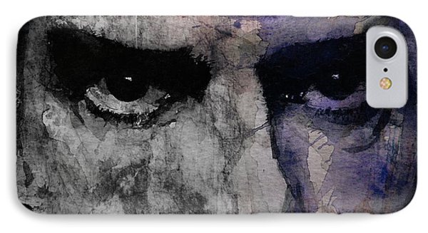 Nick Cave Retro IPhone Case by Paul Lovering