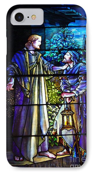 Nicodemus Came To Him At Night Phone Case by Pg Reproductions