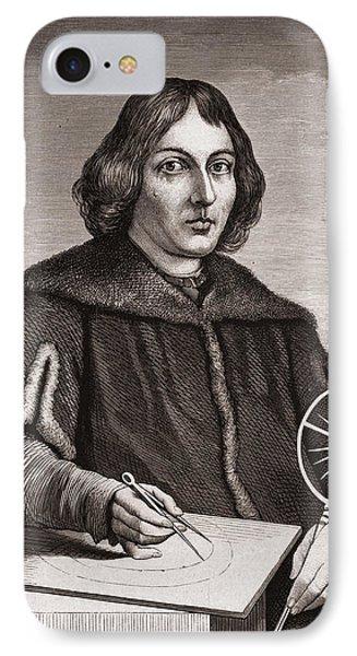 Nicolaus Copernicus IPhone Case by American School