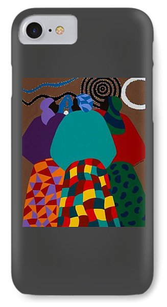 Nigerian Women IPhone Case by Synthia SAINT JAMES
