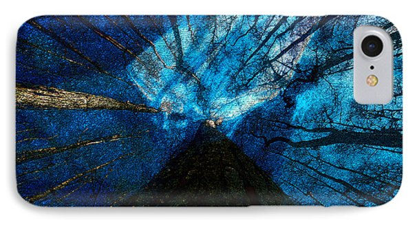 IPhone Case featuring the painting Night Angel by David Lee Thompson
