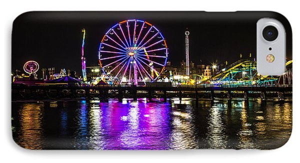 Night At The Carnival IPhone Case by Randy Bayne