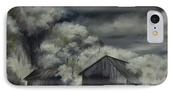 Night Barn Phone Case by James Christopher Hill