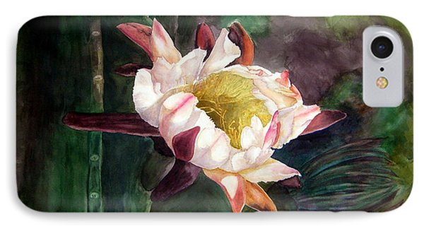 Night Blooming Cereus IPhone Case by Sharon Mick