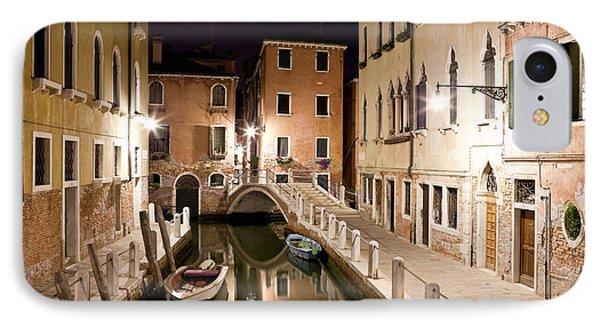 Night Bridge IPhone Case by Marco Missiaja