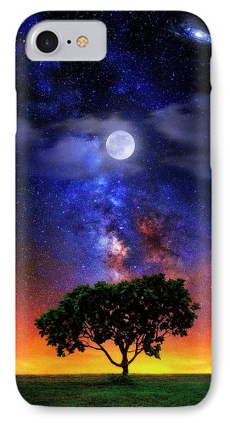 Night Colors IPhone Case by Justin Kelefas