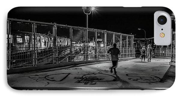 Night Commute  IPhone Case by Jeffrey Friedkin