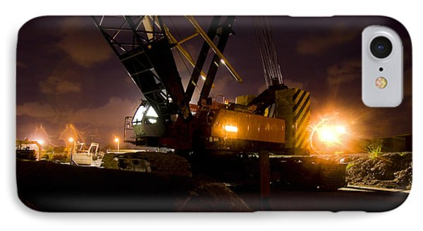 Night Crane IPhone Case by Jorgo Photography - Wall Art Gallery
