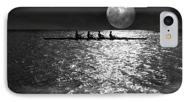 Night Crew Bw IPhone Case by Laura Fasulo