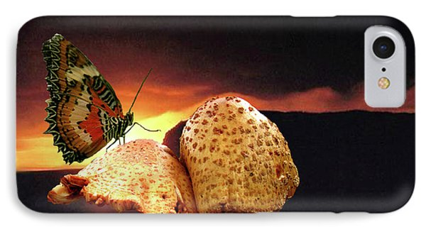 IPhone Case featuring the photograph Night Fall by Donna Brown