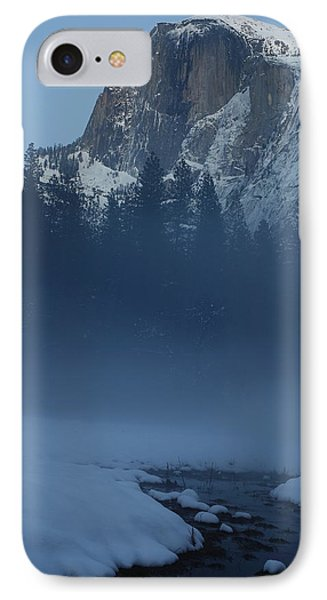 IPhone Case featuring the photograph Night Falls Upon Half Dome At Yosemite National Park by Jetson Nguyen