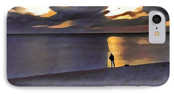 Night Fisher IPhone Case