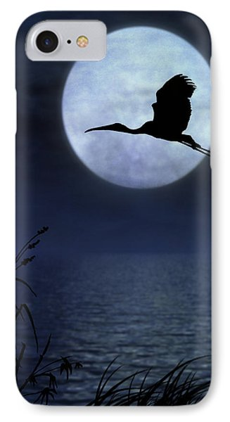 IPhone Case featuring the photograph Night Flight by Christina Lihani