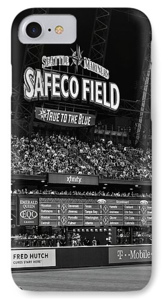 Night Game - Safeco Field IPhone Case