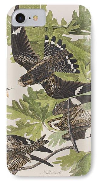 Night Hawk IPhone 7 Case by John James Audubon
