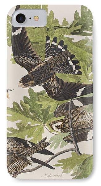 Night Hawk IPhone Case by John James Audubon