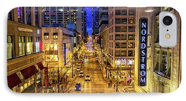 Night In Seattle IPhone Case