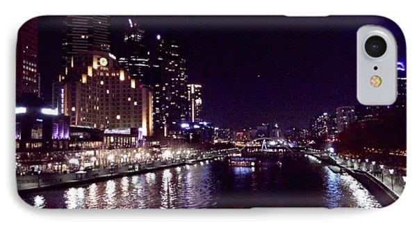 Night In The City Phone Case by Chi Nguyen