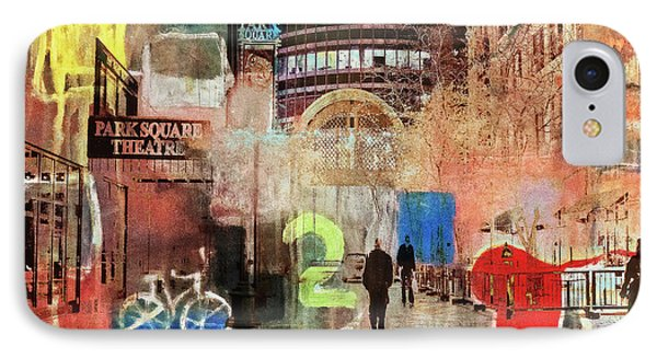 IPhone Case featuring the photograph Night In The City by Susan Stone