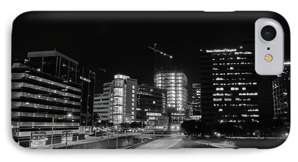 IPhone Case featuring the photograph Night In The Medical Center by Joshua House
