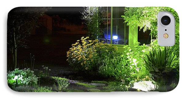 Night Light Garden  IPhone Case