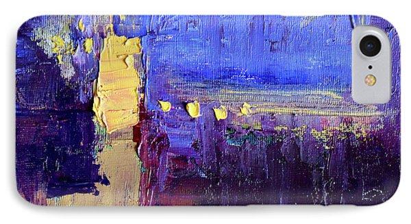 Night Light IPhone Case by Nancy Merkle