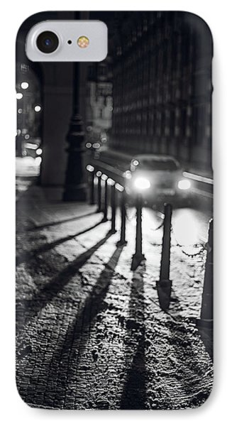 IPhone Case featuring the photograph Night Lights. Prague by Jenny Rainbow