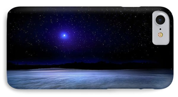 Night On Mystic River IPhone Case by Mark Andrew Thomas
