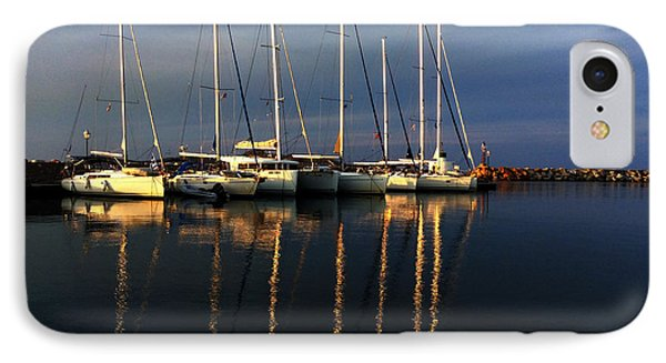 Night On Paros Island Greece IPhone Case